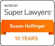 Super Lawyers 10 Years Susan Hoffinger
